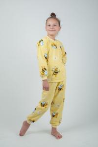 Трикотажные детские пижамы оптом от производителя