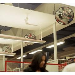 Сферические зеркала безопасности. У нас самые низкие цены, мы проверяли!