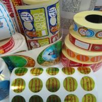 Изготавливаем самоклеящиеся этикетки цветные. Оперативно и качественно!