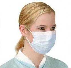 Удобные медицинские маски оптом (картонная упаковка 50 штук)