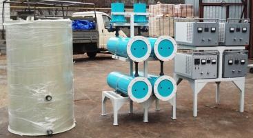 Фильтры для обезжелезивания воды и оборудование для обеззараживания
