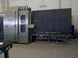 Лінія виробництва склопакетів LISEC 1600 X 2500, гарантія 12 місяців