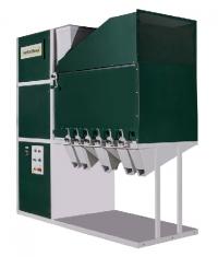 Аэродинамический сепаратор для очистки и калибровки всех видов зерна и семян
