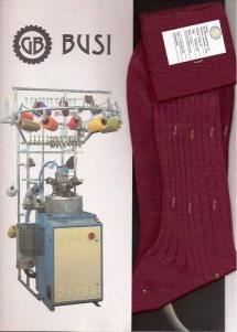 Високотехнологічне панчішно-шкарпеткове обладнання Busi Giovanni