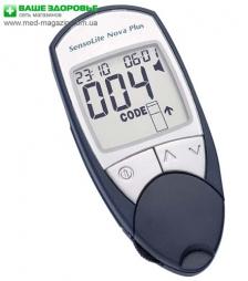 Пропонуємо купити глюкометр SensoLite Nova Plus (з голосовим супроводом)
