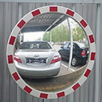 Дорожные зеркала для опасных участков дороги. Узнайте где купить!