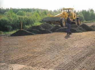 Реализация арматурной сетки для проведения дорожных работ