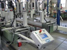 Продается автоматическая сварочно-зачистная линия Haffner SMH-4 + SVW + SV-4