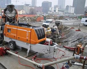 Увага! Кращі умови оренди стаціонарних бетононасосів