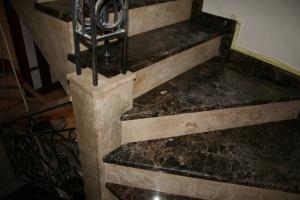 Лестницы из мрамора (Украина) - изготавливаем под ключ