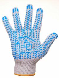 Предлагаем купить перчатки с ПВХ точкой