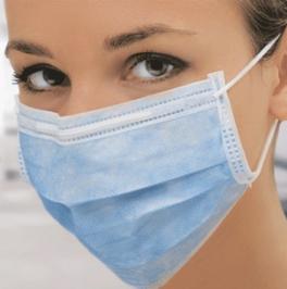 Одноразова медична маска (Україна) - 100% захист органів дихання!