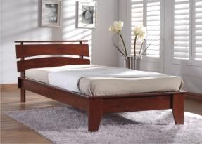 Дерев'яні ліжка (односпальні та двоспальні) - комфортабельність класу люкс!