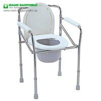 Пропонуємо замовити туалетний стілець зі спинкою для інвалідів, Київ, Україна