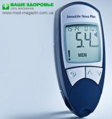 Продается глюкометр SensoLite Nova Plus + акционный набор! Конкурентные цены!