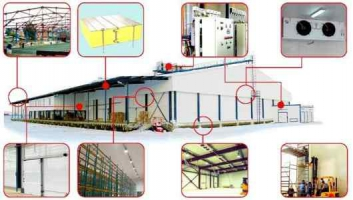 Установка та технічне обслуговування холодильного обладнання із сендвіч панелей
