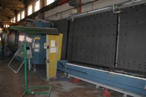 Склопакетна лінія Lisec 2000 X 3500 з роботом герметизації