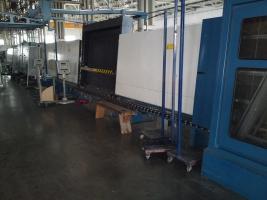 Склопакетна лінія Bystronic 1600 X 4000 з газовим тандемним пресом і роботом герметизації