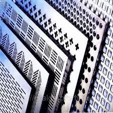 Перфорація листового металу (чорної та нержавіючої сталі)