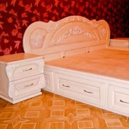 Кровати из натурального дерева (Харьков)