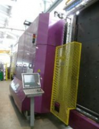 Стеклопакетная линия Lisec 2500*3500 с газовым пресом и роботом герметизации (2004 год)