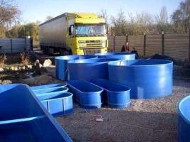 Предлагаем купить бассейны для рыбы в Украине