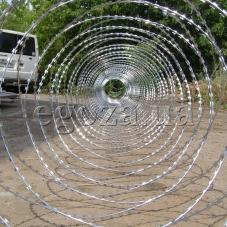 Спираль Егоза-Стандарт-плюс 1250/7 - надежная защита объекта от краж!