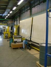 Склопакетна лінія Lenhardt 1600 Х 2500 з газ пресом і роботом герметизації