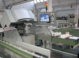 Распиловочный центр Haffner SBA-1 с тремя пильными дисками