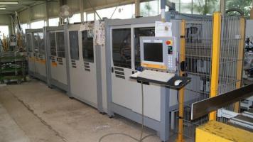 Центр распила и обработки профиля Schirmer Typ BAZ 1000-G3/VU