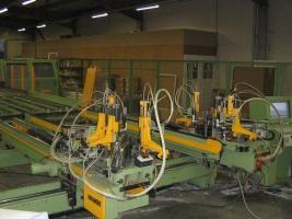 Устаткування для виробництва ПВХ (металопластикових вікон) і склопакетів MGM, Haffner, Wegoma