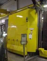 Склопакетна лінія Lisec 2500Х3500 з газпресом, роботом герметизації і роботом пробки