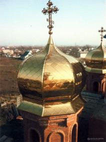 Предлагаем услуги по изготовлению куполов с напылением нитридом титана