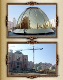 Сучасне вакуумне напилення: виготовлення куполів церковних