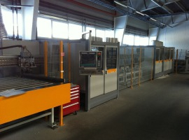 Центр розпилу та обробки ПВХ профілю Schirmer BAZ 100-G 6/Tandem+VU/30-150°
