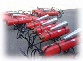 Вогнегасники вуглекислотні, доставка у будь-який регіон