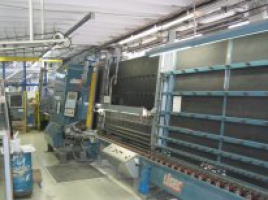 Склопакетна лінія Lisec 1600 Х 2500 з газ пресом