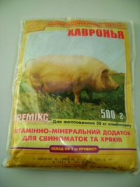 Премиксы для свиней (Украина). Повышение продуктивности на 30%!
