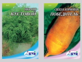 Разработка дизайна упаковки для семян