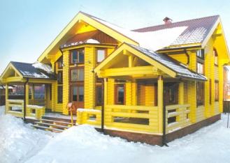 Проекти будинків зі зрубу від професіоналів.