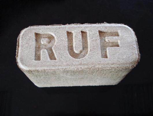 Производство топливных брикетов RUF, долгий срок хранения