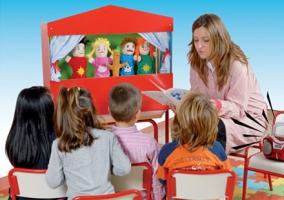 Великий вибір іграшок для домашнього театру (Київ)