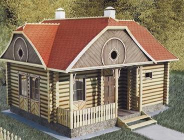 Проекты деревянных домов с мансардой, Луцк, Ковель