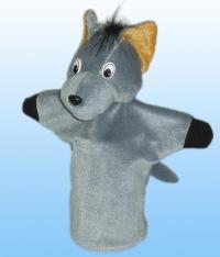 Іграшка для лялькового театру Вовк