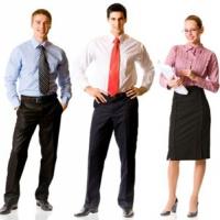 Одежда для офисных сотрудников может и должна быть яркой