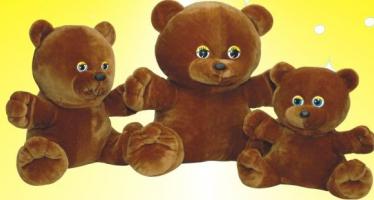 Плюшеві ведмеді оптом. Відмінна якість
