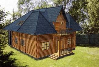 Будуємо дерев'яні будинки. Проекти на будь-який смак тут!