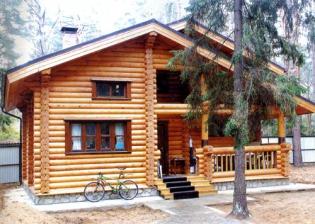 Строительство домов из дерева осуществляют профессионалы (Луцк, Ковель)