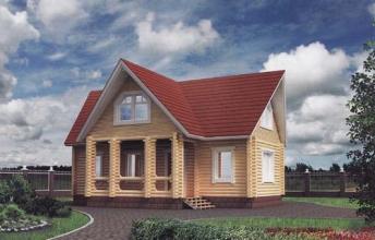 Якщо й будувати будинки з оциліндрованого бруса, то з нами!
