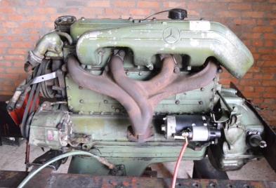 Обратите внимание! Двигатель на ЗИЛ-130 (Mercedes OM 366) в превосходном состоянии